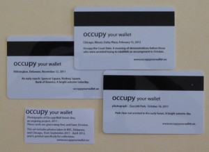Back of cards in Occupy Your Wallet