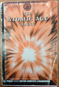 The Atomic Age Opens - cover