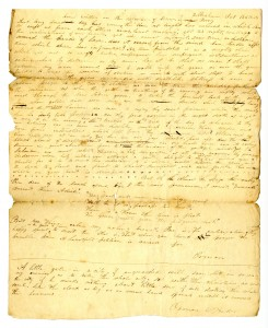 """Lines Written on the Departure of Salmon C. Perry"" Wilbraham, October 16, 1828"
