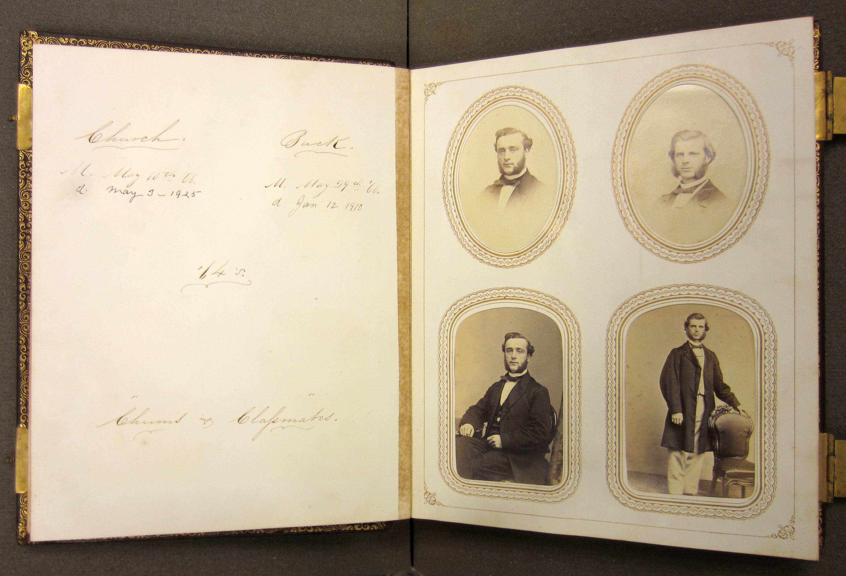 charles churchs class album 1864