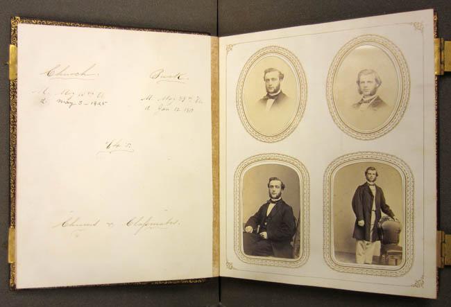 Charles Church's class album, 1864