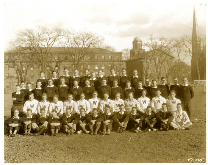 Wesleyan football team, 1932