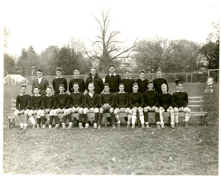Wesleyan soccer team, 1932