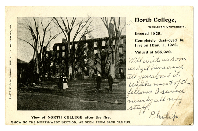 North College fire, 1906