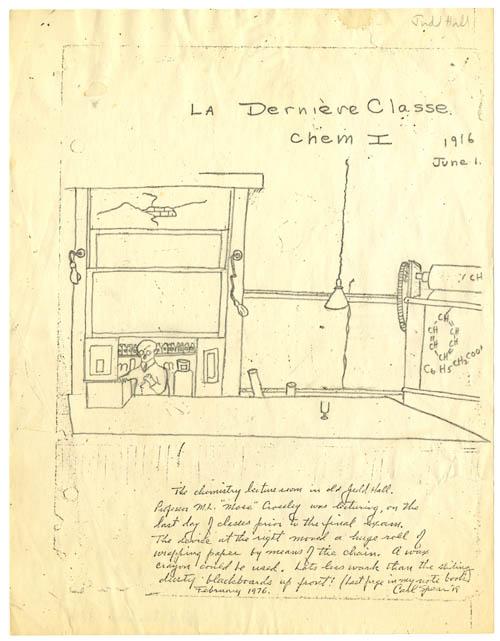 La Derniere Classe, 1916