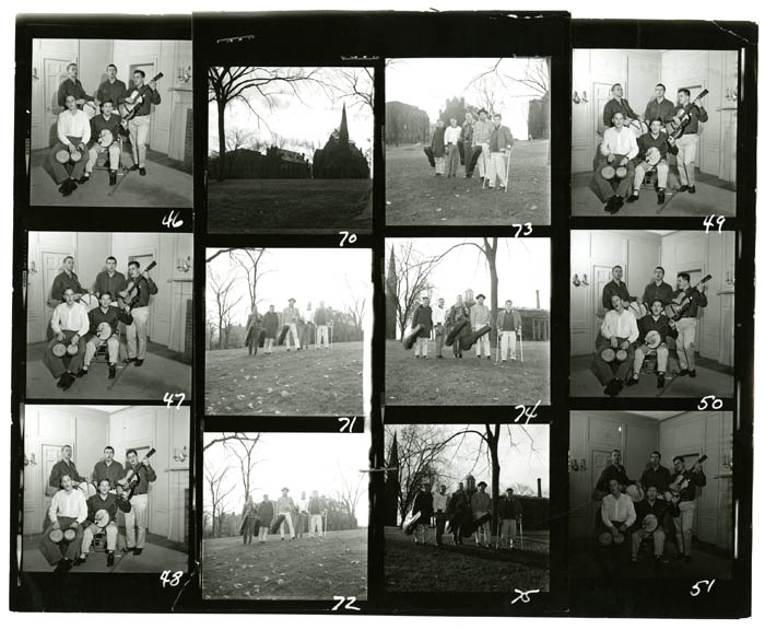 The Highwaymen contact sheet