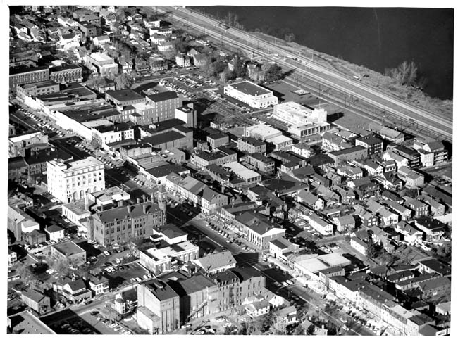 Downtown Middletown, circa late 1950s